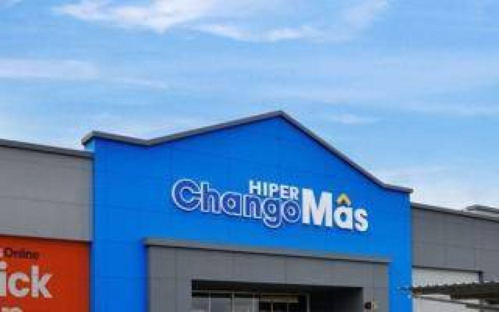 De Narváez le cambia la cara a Walmart: Los locales ya se llaman Hiper ChangoMás en Luján, Avellaneda y Olavarría