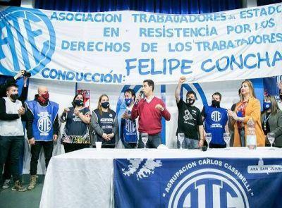 ATE respalda a los candidatos a Diputados nacionales del Frente de Todos