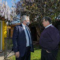 Alberto Fernández inaugura una Facultad con Mario Ishii