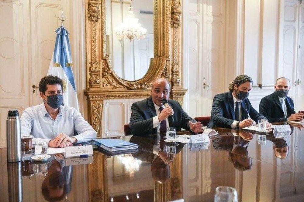 Tras los cambios en el Gobierno, Juan Manzur encabeza la primera reunión de Gabinete