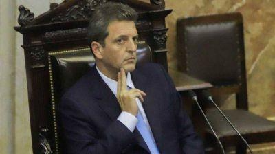Massa impulsa una extensión de la moratoria y una amnistía fiscal para pequeños contribuyentes