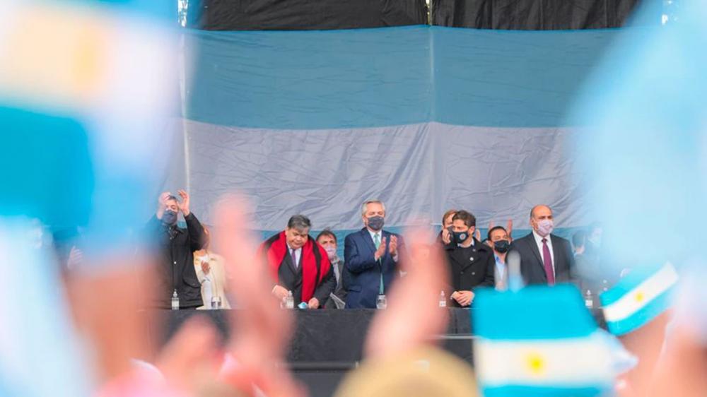 Liturgia peronista y fuerte presencia de intendentes: cómo se vivió el relanzamiento de campaña del Frente de Todos
