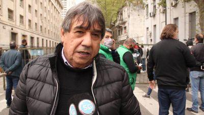 """Video. Cholo García: """"Se siente en el aire la unidad de todos los gremios de la CGT"""""""