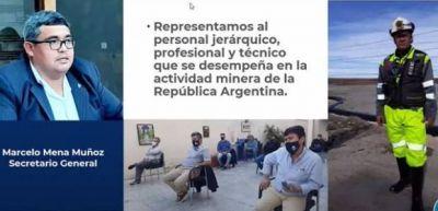 """El titular de Sindicato Jerárquico Minero disertó en """"San Juan Tierra Minera"""""""