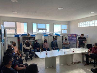 CGT Zona Atlántica se reunió con el Delegado de Trabajo de Nación