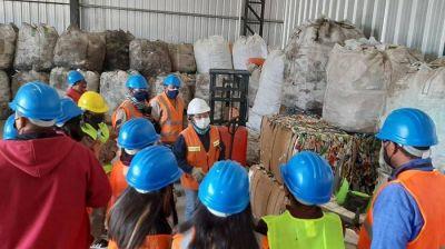 Visita al Centro Ambiental Jujuy: Escuela Agrotécnica Nº 10 de Hornillos recorrió las instalaciones de GIRSU S.E.