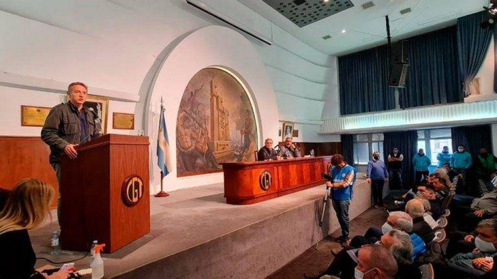 """Con el regreso de los Moyano, la CGT se subió a la campaña del Frente de Todos y atacó a la oposición: """"Han perdido la vergüenza"""""""