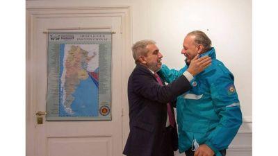 Aníbal Fernández se reunió con Sergio Berni para pautar la agenda de seguridad