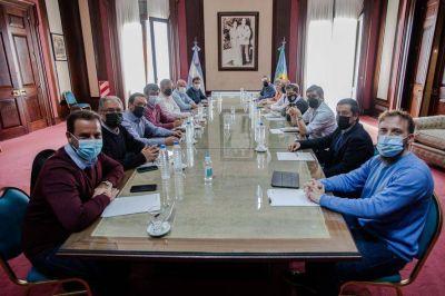 Axel Kicillof volvió a reunirse con los intendentes del conurbano