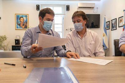 Comodoro Rivadavia y Rada Tilly firmaron un convenio para mejorar el tratamiento de residuos