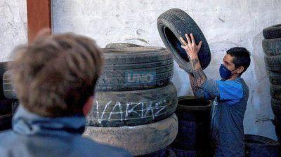 Paraná recicla alrededor de 25.000 neumáticos por año