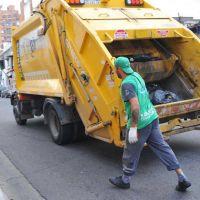 El feriado del 27 habrá recolección de residuos normal