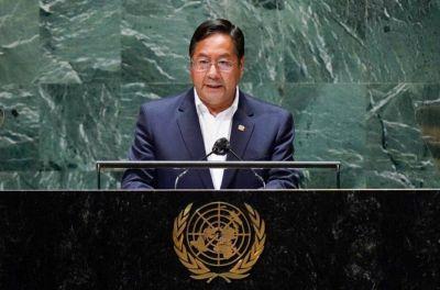 Bolivia: Luis Arce denunció ante la ONU que Macri envió