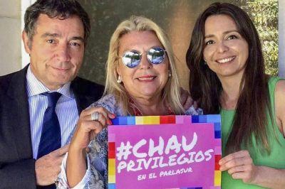 Insultos de Luis Juez y acusaciones de Carrió como eje de la acción opositora