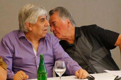 El fútbol bifurca otra vez los caminos de Hugo Moyano y Luis Barrionuevo