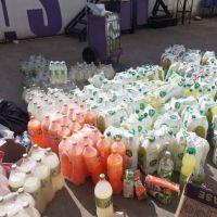 La Comuna de Quilmes desechó gran cantidad de bebidas no aptas para el consumo humano