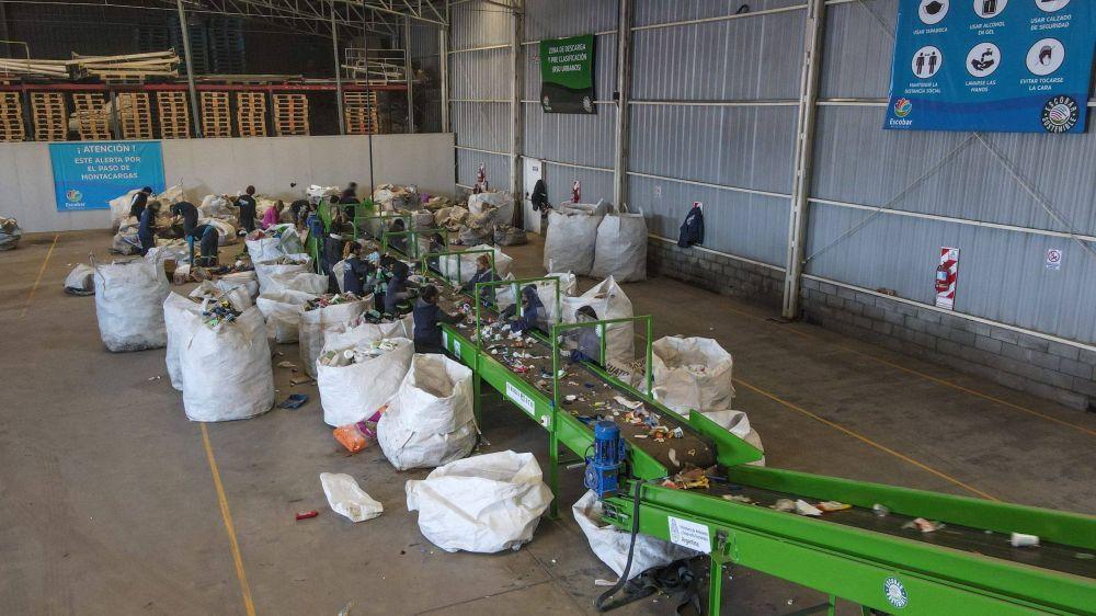 Escobar: Los puntos móviles de recolección de reciclables estarán en Maschwitz y Matheu