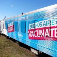 El Tren Sanitario llegará hasta Mar del Plata a fines de octubre
