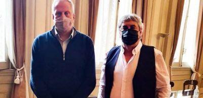 El titular de UDA abordó la situación educativa con el ministro Perczyk