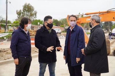 Merlo: Menéndez recibió a Katopodis para supervisar avances de obras