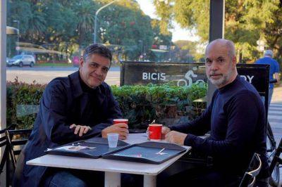 Horacio Rodríguez Larreta y Jorge Macri acordaron negociar un plan para el AMBA después de las elecciones