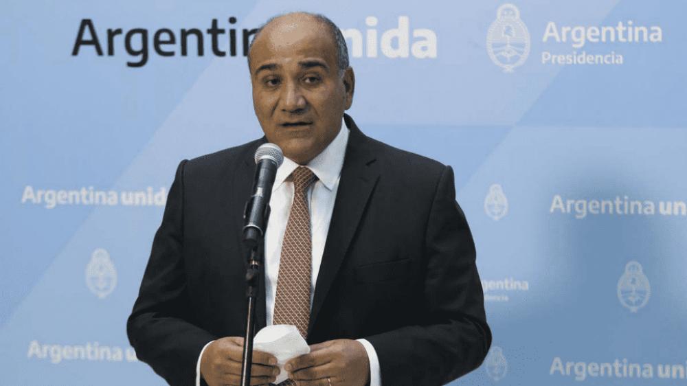 Manzur afirmó que la liberación de la exportación de carne cuida