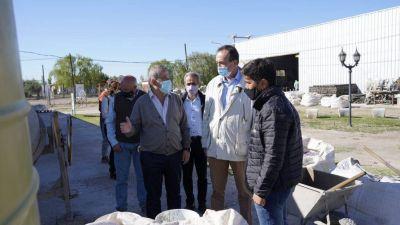 Fidel destacó el trabajo que se desarrolla en la Planta de Reciclado Junín Punto Limpio