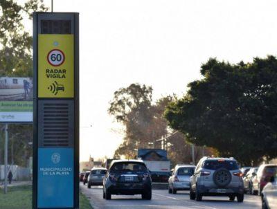 Arrancan a funcionar las fotomultas para controlar el tránsito en La Plata