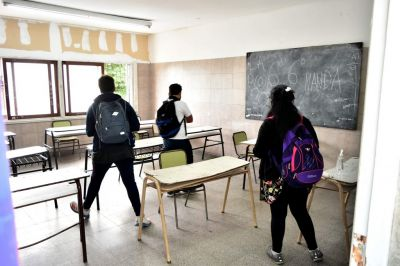 En 150 escuelas de Mar del Plata se dictan clases desde este sábado para reforzar la escolaridad