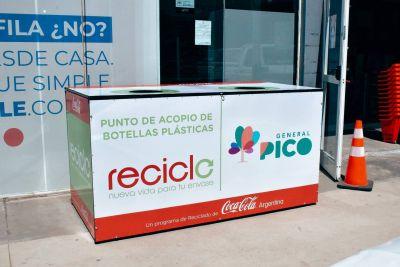 El Municipio firmó un convenio con una embotelladora e instalará nuevos puntos de acopios para la recuperación de materiales reciclables