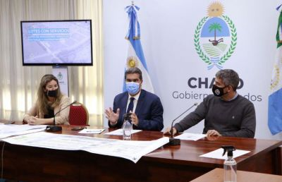 Nuevo Sur Resistencia: El gobierno provincial expone ante la 62 Organizaciones, proyecto para la construcción de viviendas