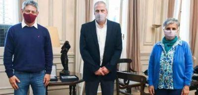 Sadop abordó la actualidad educativa y la situación de los docentes con el ministro Perczyk
