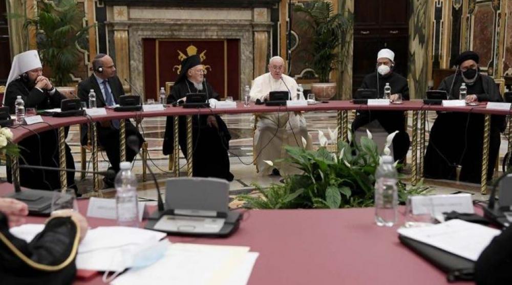 Referentes religiosos, reunidos en el Vaticano por Pacto Educativo Global