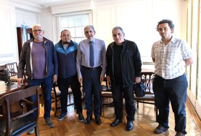 La FeMPINRA le planteó a Aníbal Fernández la necesidad de que las embarcaciones de patrullaje marítimo se construyan en astilleros nacionales
