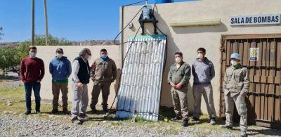 Dictaron un curso sobre fabricación de termotanques con materiales reciclados