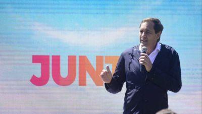 """Garro presentó los candidatos de 'Juntos' y llamó a """"sostener la confianza y cercanía con el vecino"""""""