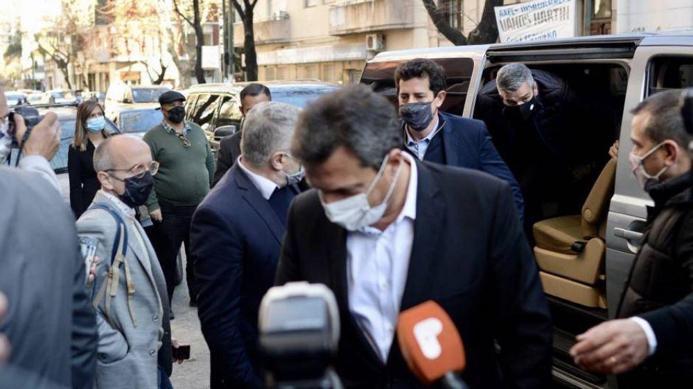 La reducción de planes, la bandera de Alberto, Massa y Cristina para lo que queda del mandato