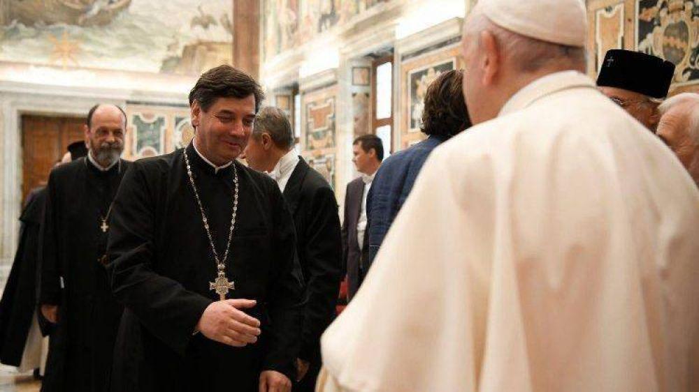 """Papa a ortodoxos y católicos: pronto declararé a San Ireneo de Lyon """"Doctor Unitatis"""""""