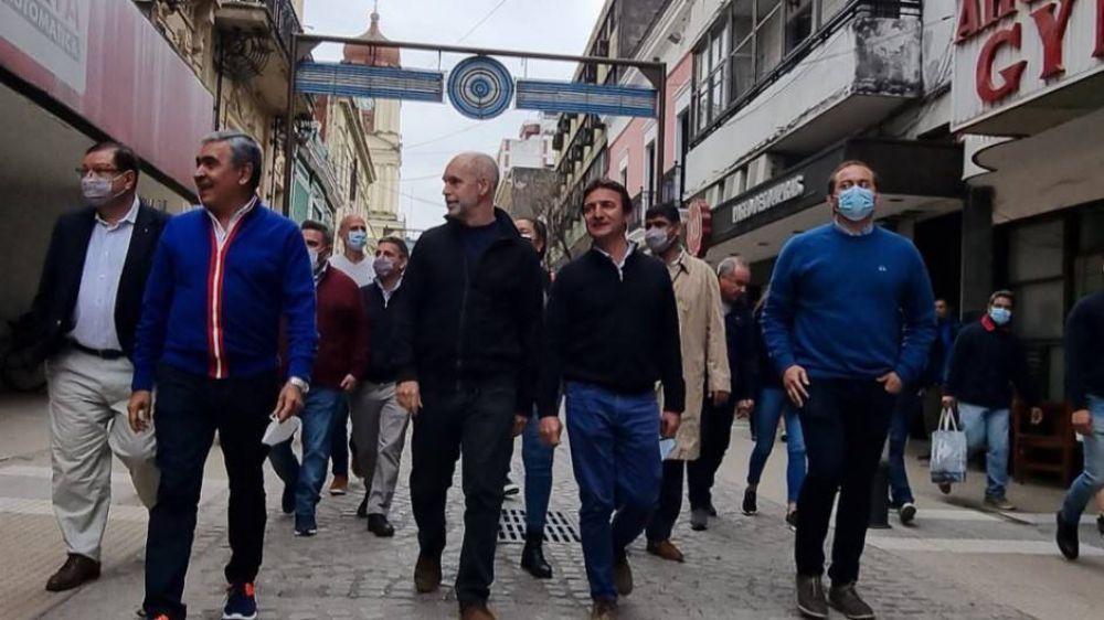 La batalla por Tucumán: Manzur, Larreta y Alberto en la provincia del norte