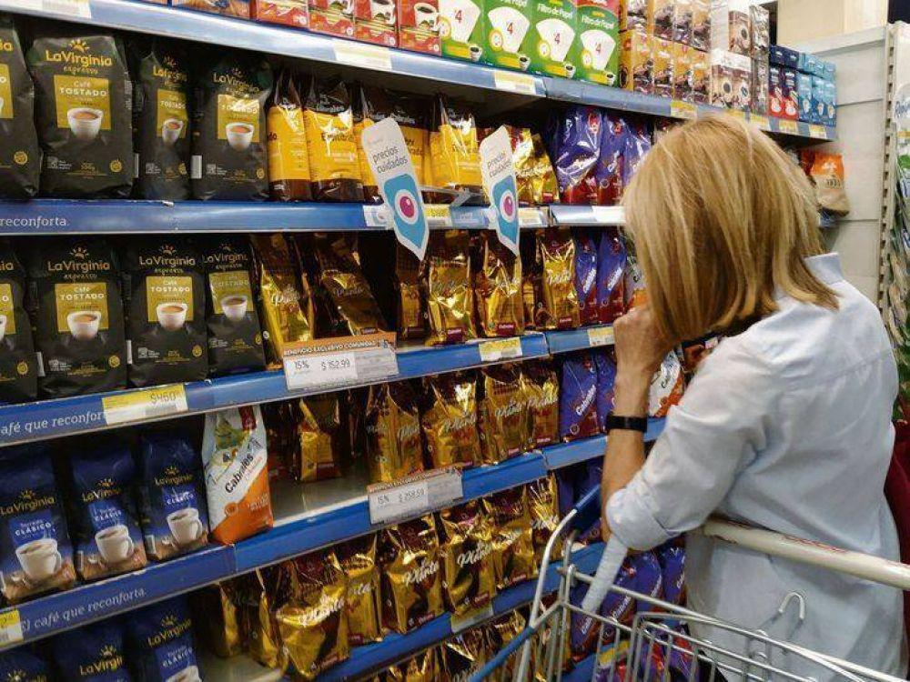 Alimentos subieron 0,6% en la primera semana de octubre (leve desaceleración)