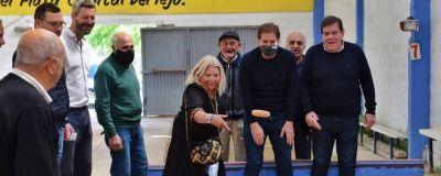 Santilli estuvo con Carrió en Mar del Plata y Miramar
