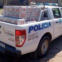 Tres detenidos por el robo de bebidas