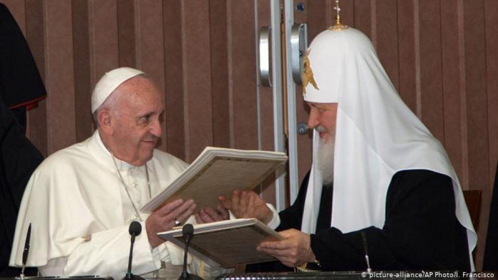 Gestionan un nuevo encuentro del Papa con el Patriarca ortodoxo ruso
