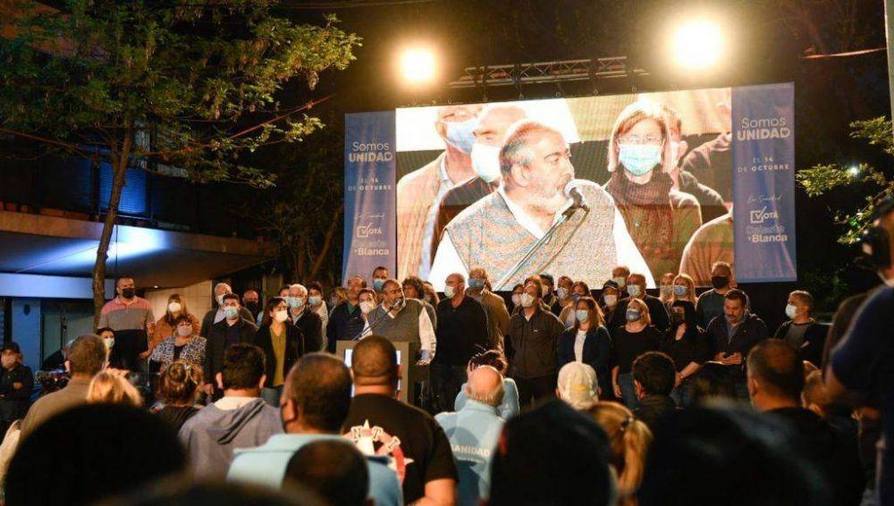 Oficialismo y oposición del gremio de sanidad hicieron actos en una caliente recta final de campaña