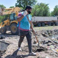 En septiembre se retiraron más de 14 mil toneladas de residuos de canales, micro y macro basurales