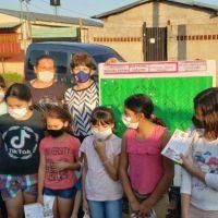 """Junto al IPRODHA, la Fundación para el Desarrollo Social incorpora un nuevo barrio al Programa """"Trabaja Misiones"""""""