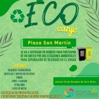 Jornadas de Eco-Canje en las plazas