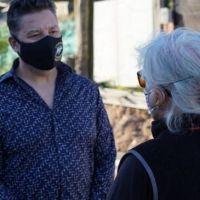 Merlo: Menéndez supervisó obras en Loma Florida