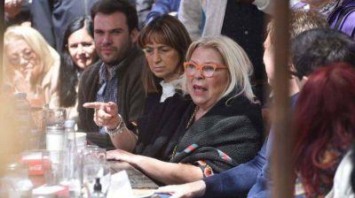 Elisa Carrió y la Coalición Cívica buscan recuperar centralidad en la campaña