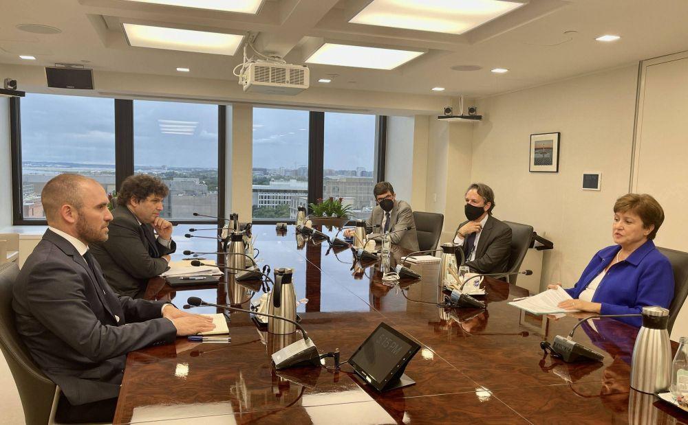 FMI: Guzmán vio a Lipton y Georgieva para acelerar el acuerdo después de las elecciones